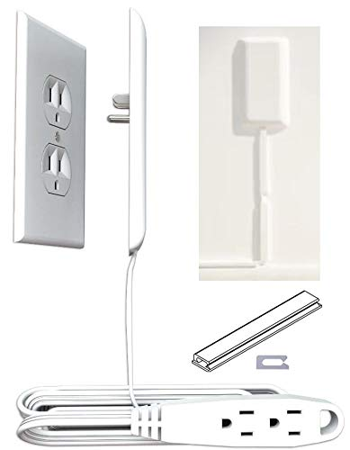sleek socket - Superior Electrical Childproofing Protects Toddlers & Pets from Hazards of Electrical Outlets & Cords