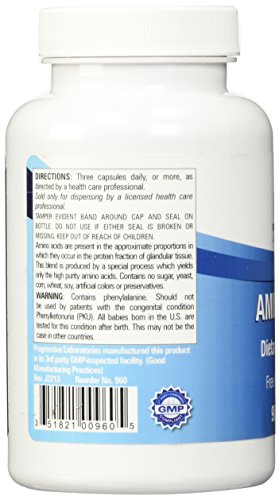 Progressive Labs Amino Blend Supplement, 90 Count Photo #5