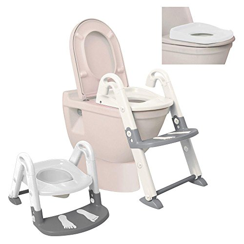 Dream Baby Entrenador de Baño, color Blanco/Gris