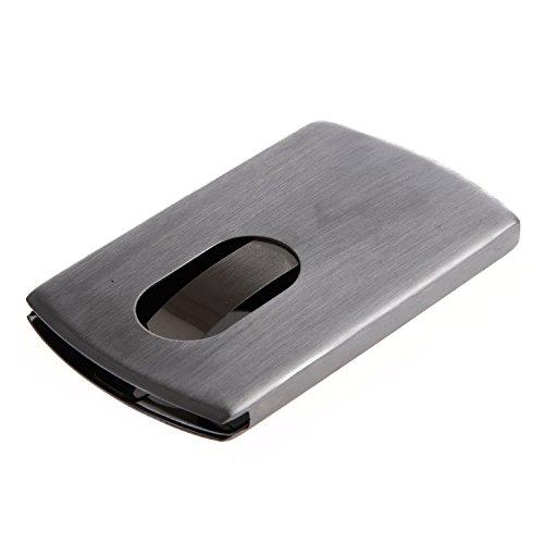 Easy Provider/® Boite Etui Porte-Carte de visite//Cr/édit en Acier Inox