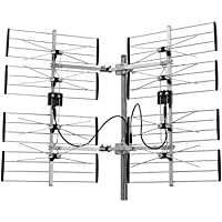 Homevision Technology ANT7297 Electronic Master Multidirectional Digital HDTV Outdoor TV Antenna, Silver