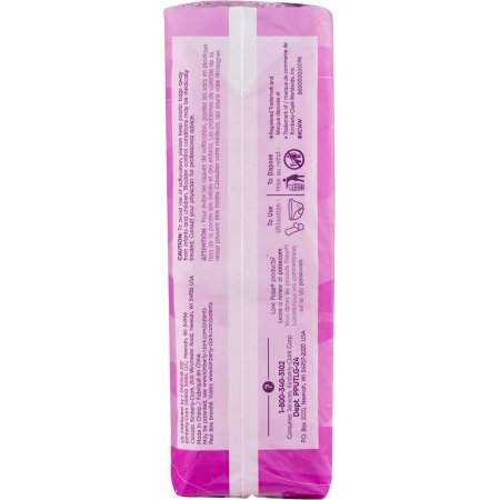 PACK OF 8 - Poise Ultra Thin Pads Long Length Light Absorbency - 24 CT