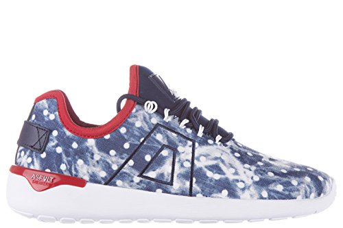 Blu Schuhe Damenschuhe Asfvlt Turnschuhe Sneakers Damen XUPxqT