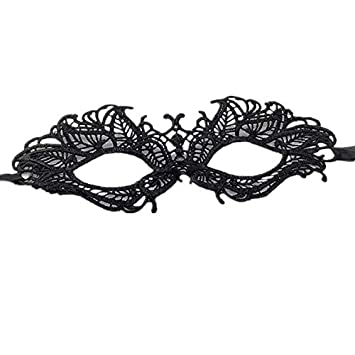 861428d36ded Eye Mask Sexy white Lace Venetian Masquerade Ball Halloween Party Fancy  Dress Costume