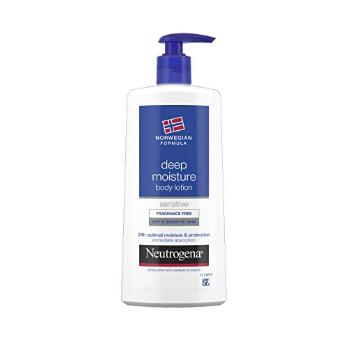 Neutrogena Norwegian Formula Deep Moisture Dry and Sensitive Body Lotion 250 (Moisture Wrap)