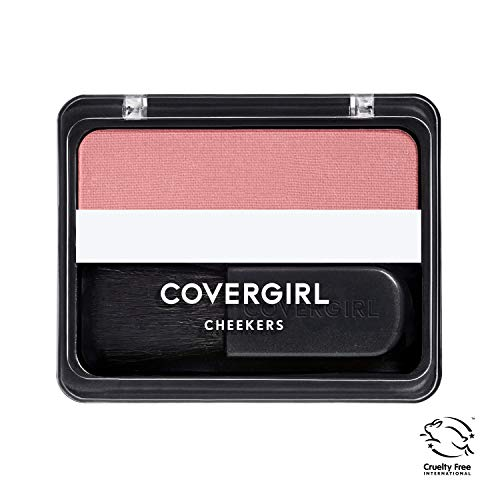 COVERGIRL Cheekers Blendable Powder Blush Rose Silk, .12 oz (packaging may vary)