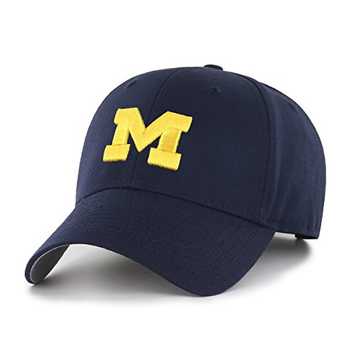 - NCAA Michigan Wolverines OTS All-Star MVP Adjustable Hat, Navy, One Size