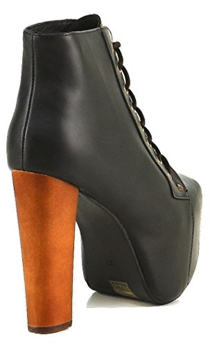 Jeffrey Campbell , Damen Pumps Schwarz Black