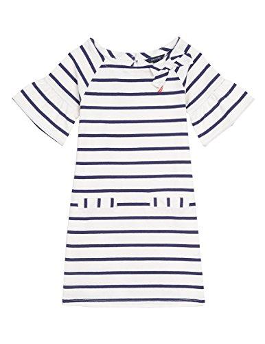 Jersey Shift Stripe Cream Girls' Nautica Dress Eqp4nw