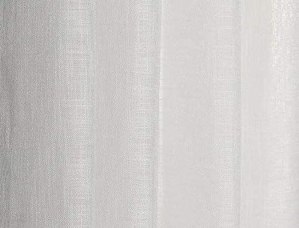 habitaci/ón y Dormitorio 1 Unidad X 140x260 Modelo Susan PimpamTex Cortina con 8 ollao Natural translucida para sal/ón