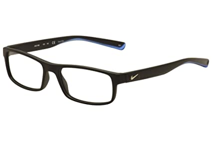 8ca8bcbbbd38 Amazon.com  Eyeglasses NIKE 7090 018 MATTE BLACK CRYSTAL PHOTO BLUE ...