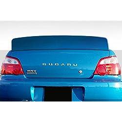 Extreme Dimensions Duraflex Replacement for 2002-2007 Subaru Impreza/WRX 4DR Downforce Rear Wing Spoiler - 1 Piece