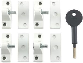 Yale Locks 8K118 Economy Window Lock White Finish Pack 4 Visi Pack by Yale: Amazon.es: Bricolaje y herramientas
