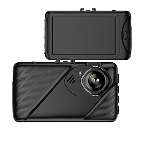 Camara de Coche para Auto Grabadora DVR Dash Cam Full HD 1080P G-sensor Vision Nocturna Con vigilancia de Aparcamiento...