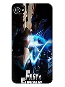 cool pictures Cool Fast and Furious TPU Unique Durable Hard Protective fashionable Case for iphone 4/4s