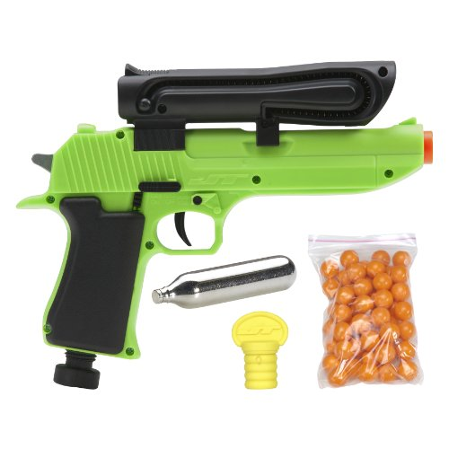 JT US-50 Semi Auto 0.50-Calibre Paintball Marker, Green