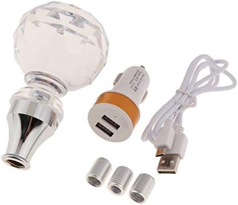 B Baosity クリスタルシフト ノブ 手動 自動 スティック つまみ付き ライト - 04