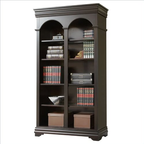 Martin Furniture Beaumont Double Open Bookcase - Fully Assembled