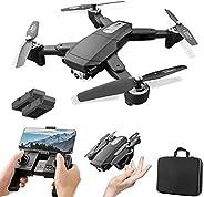 XFTOPSE S604 Pro Drone com Câmera 4K HD, Vôo de 30 Minutos, Profissional GPS Drone 3Km, 5G WIFI FPV Vídeo ao V