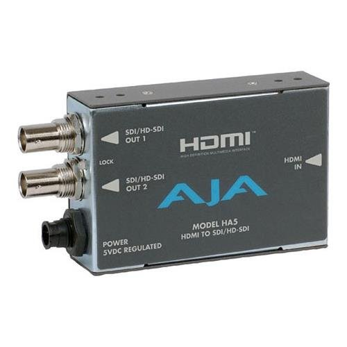 Hd Sdi Video - AJA HA5 HDMI to SD/HD-SDI Video and Audio Converter