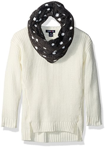 Limited Too Little Girls' Pullover Sweater (More Styles Available), Vanilla, 4