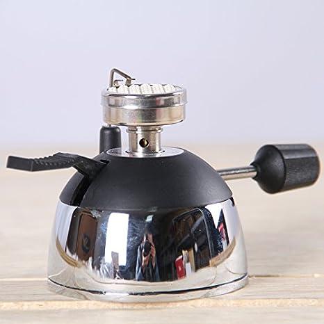 evelove Mini mesa estufa quemador de butano de Gas para sifón cafetera eléctrica o té: Amazon.es: Hogar