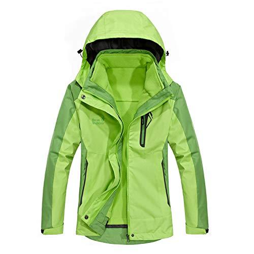 Amazon.com: MOERDENG - Chaqueta de esquí impermeable para ...