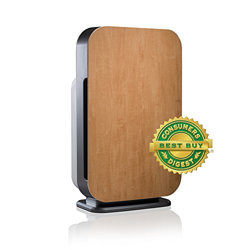 Alen BreatheSmart Flex Air Purifier for Bedrooms & Living Rooms - HEPA Filter for Mold & Bacteria - 700 sqft - Maple