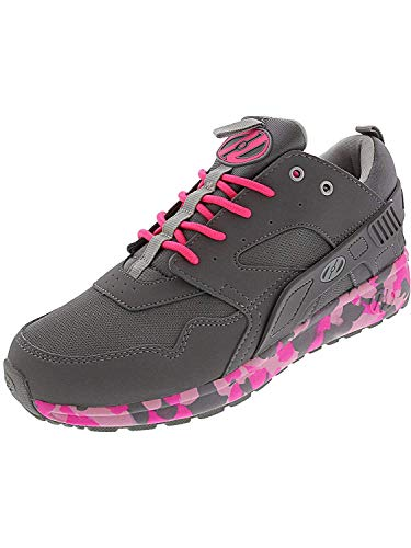 Heelys HE100098H Kid's Force Sneakers, Grey/Pink Confetti - 7