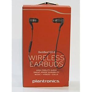 Plantronics BackBeat Go 2 88600-60 Bluetooth Stereo Headset Black