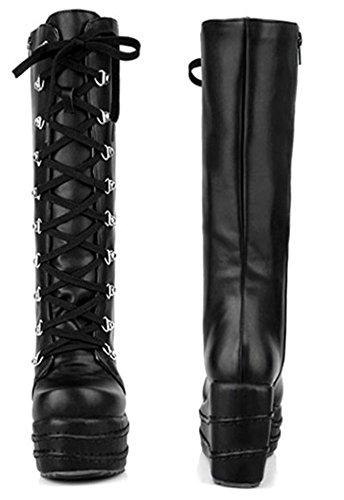 Mollet Tige Haute Mode Aisun Femme 6qxaFEYw1
