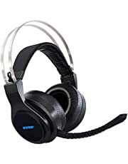 BliGli 2.4Ghz Optical Noise Cancelling USB Wireless Gaming Headphones for Xbox 360,Xbox ONE,PS4,PS3,PC with Detachable Microphone