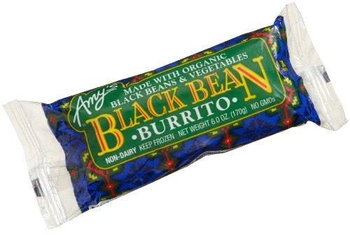 Black Bean Veggie Burrito by Amy's Kitchen, 6 oz (12)