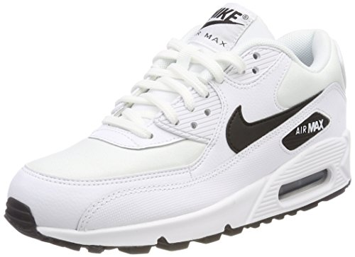 Black Air de 90 Blanc Max WMNS Femme 131 NIKE White Compétition Running Chaussures 5OPpqXHxn