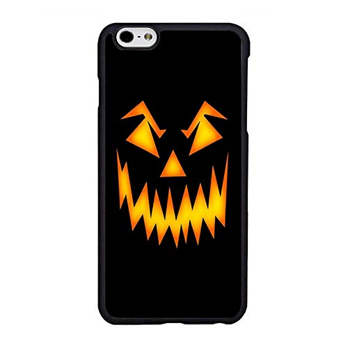 Halloween Scary Pumpkin Face Phone Case Compatible iPhone 6 plus/6s Plus Phone Shell Design ()