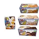 Mini Moon Pie Variety Pack Chocolate, Vanilla, and Banana, 48 Count Box!