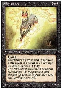 Magic: the Gathering - Nightmare - Revised ()