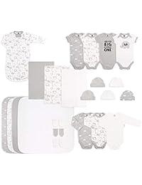 Newborn Essentials Layette Gift Set for Baby Boys or Girls, 23 Piece