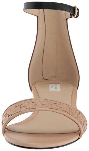 Cole Haan Women's Genevieve Weave WDG Wedge Sandal Nude/Brown UvUpORJVD