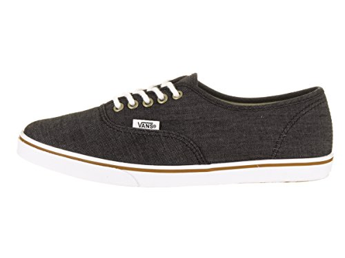 Vans Unisex Authentic Lo Pro (Chambray) Casual Shoe (Chambray) Black/True Wht csKQxK9kvh