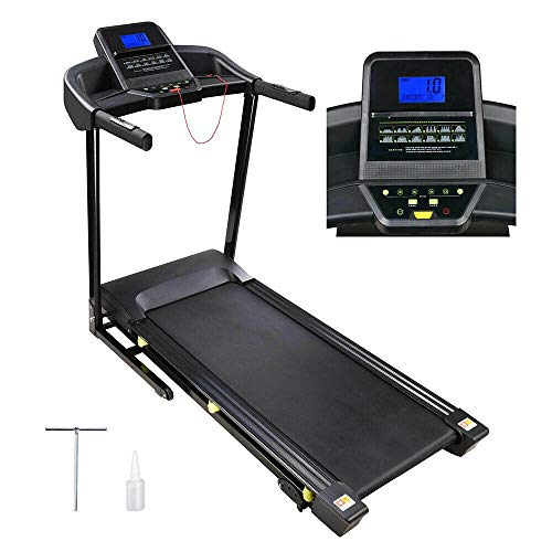 LIANTOU 3.0HP Folding Electric Treadmill Motorized Running Machine - Large Runway Size