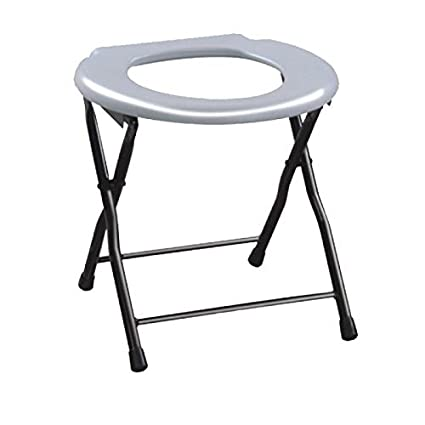 11099b033 Buy KosmoCare Premium Imported Folding Commode Stool Online at Low Prices  in India - Amazon.in