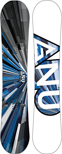Gnu Carbon Credit Asym Wide Snowboard Mens