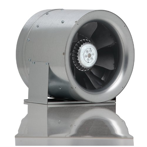 Can Max Fan Mixed Flow Inline Fan, 10-Inch 1023 Cubic Feet Per Minute - 340430