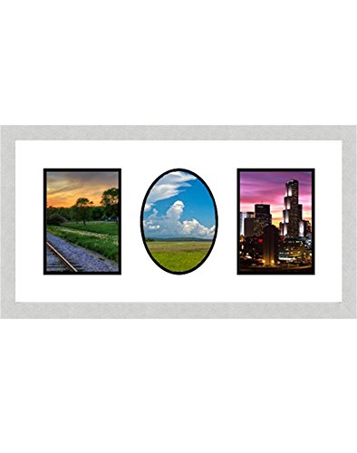 Buy Frames By Mail Double Square Single Oval Opening Collage Frame ...