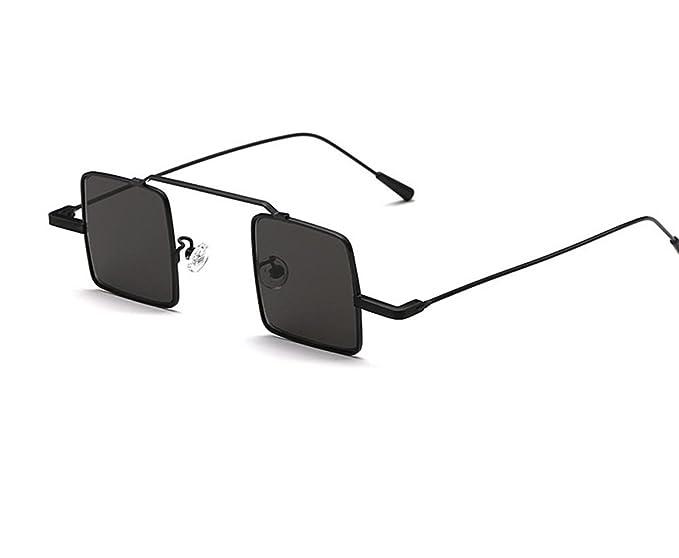 Amazon.com: HERO pequeña plaza clásico Retro anteojos de sol ...