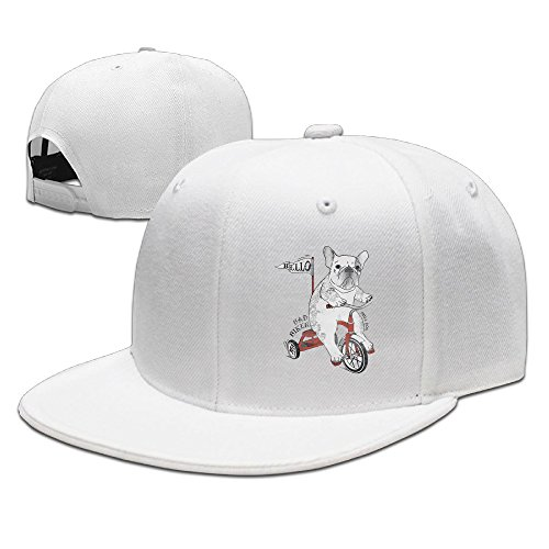 hello-bad-biker-bulldog-flexfit-cap