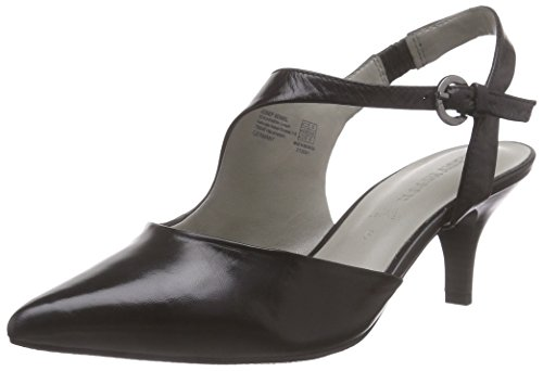 Gerry Weber Shoes Linette 03, Damen Knöchelriemchen Pumps, Schwarz (schwarz 100), 38 EU (5 Damen UK)
