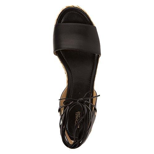 Michael Michael Kors Margie Flatform Mujer Piel Sandalia Plataforma