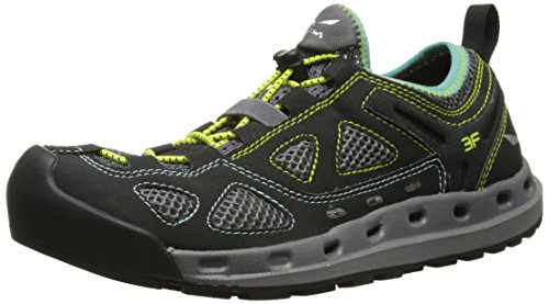 Calzado De Estilo Salewa Mujeres Ws Swift Alpine Black Out / Swing Green